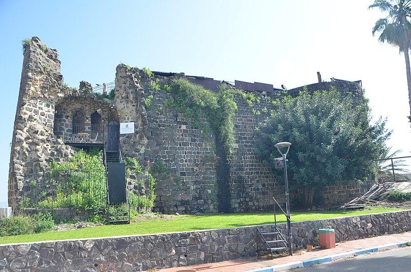 המצודה העות'מאנית בטבריה