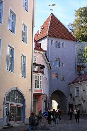 Walls of Tallinn - Image: Pikk jalg tower