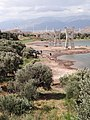 Pillars of Bridge on Shore of Artificial Lake - En Route from Qazvin to Rudbar - Northwestern Iran - 03 (7420207974).jpg