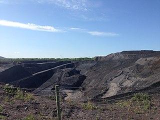 Stellarton Surface Coal Mine