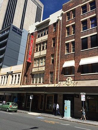Edward Street, Brisbane - Pioneer House, 2015