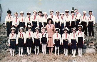 Pioneer Organization - New Pioneers in second grade, September 1986