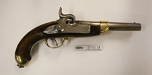 Caplock mechanism - Caplock Pistol, Swiss Ordnance 1817/42