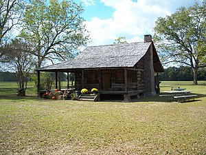 National Register of Historic Places listings in Holmes County, Florida - Image: Pittman FL Keith Cabin 01