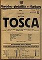 Plakat za predstavo Tosca v Narodnem gledališču v Mariboru 12. junija 1925.jpg