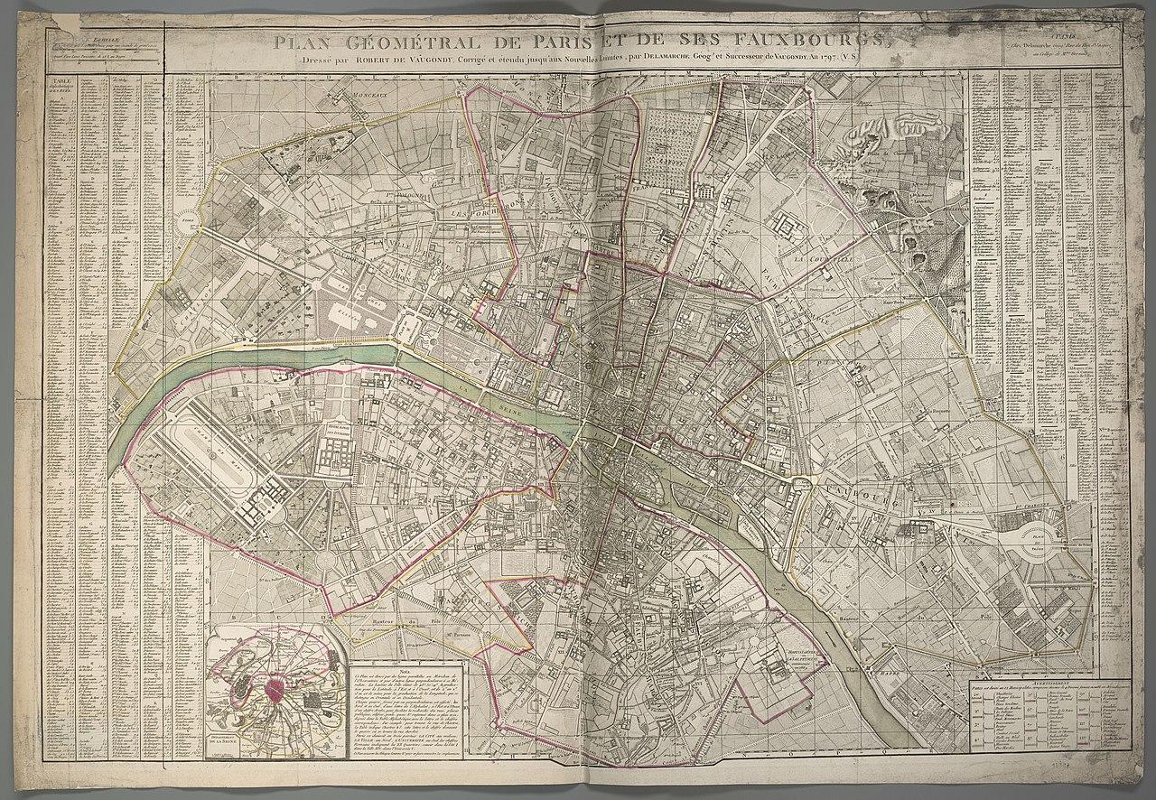 File:Plan Géométral De Paris Et De Ses Fauxbourgs.jpg