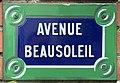 Plaque Avenue Beausoleil - Le Pré-Saint-Gervais (FR93) - 2021-04-28 - 1.jpg