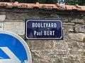 Plaque Boulevard Paul Bert - Bourg-en-Bresse (FR01) - 2020-09-16 - 1.jpg