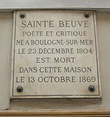 the definition of a classical author according to charles augustin sainte beuve Explanation of literature of france  according to the annales cambriae (c  the outstanding critic of the era was charles augustin sainte-beuve sainte-beuve,.