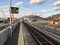 Platform of Kajikuri-Godaichi Station.jpg