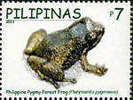 Platymantis pygmaeus 2011 stamp of the Philippines.jpg