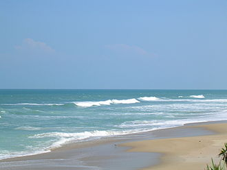 Playalinda Beach (Florida) - View of Playalinda Beach