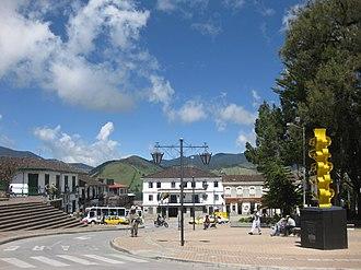 Sonsón - Image: Plaza de Ruiz