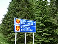 Pohjanmaa and Kruunupyy border sign.jpg