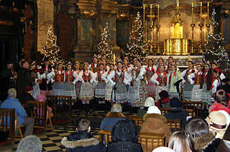 Poles in Ukraine - Image: Polish Children Choir in Lviv