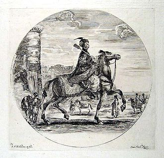 Stefano della Bella - Image: Polish horseman Della Bella