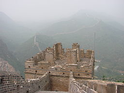Pollution over the great wall