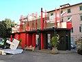 Pontedera - Piazza Martiri della Libertà - Officina Canuti.JPG