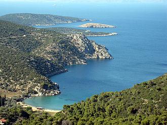 Poros - The island of Poros.