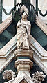 Porta dei canonici, angeli di niccolò di pietro lamberti 02.JPG