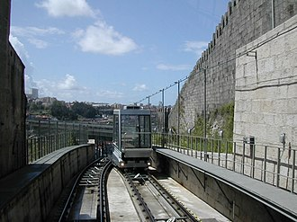 Funicular dos Guindais - Image: Porto Funiculardos Guindais