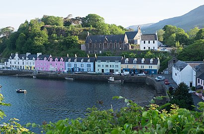 How to get to Portree with public transport- About the place