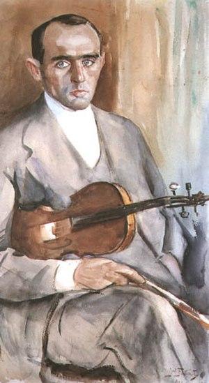 Paul Kochanski - Portrait by Julian Fałat, 1911