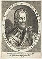 Portret van Charles de Bourbon, graaf van Soisson Atrium Heroicum (serietitel), RP-P-1910-4293.jpg