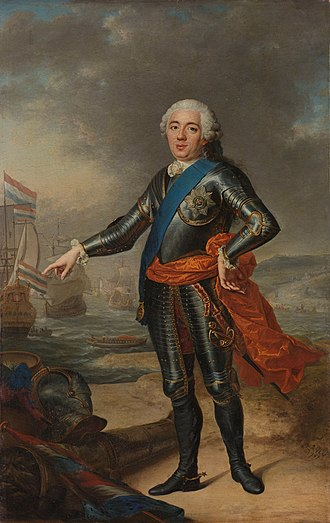 William IV, Prince of Orange - Portrait of William, 1751