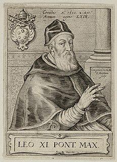 Pope Leo XI 17th-century Catholic pope