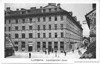 Postcard of Ljubljana, Ljubljanski dvor.jpg