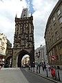 Powder Tower. Prague. Czech Republic. Пороховая Башня. Прага. Чехия - panoramio (2).jpg