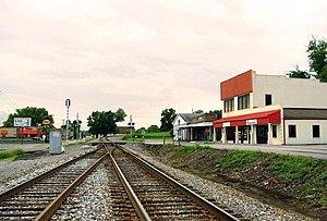 Powell, Tennessee - Image: Powell R Rtracks tn 1