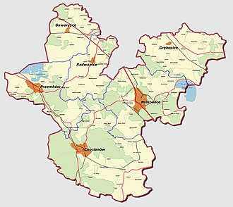 Polkowice County - Image: Powiat polkowicki