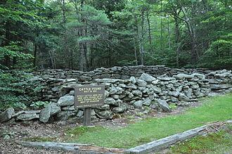 Poundmaster - Historic Stone Animal Pound in Pownal, Maine