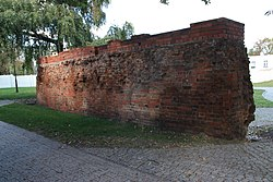 Pozostalosci murow obronnych odcinek wschodni XIII-XIV w Inowroclaw ul.Kilinskiego 02 iwona