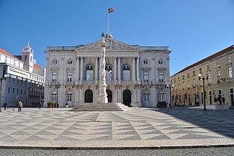 Câmara municipal - Building of the Câmara Municipal of Lisbon.