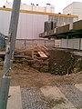 Praha, Nové Město, Národní třída, výstavba Copa Center (T).jpg