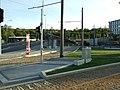 Praha, Radlice, tramvajová trať v Radlické ulici, cesty.jpg