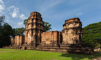 Prasat Kravan - Image: Prasat Kravan, Angkor, Camboya, 2013 08 16, DD 01
