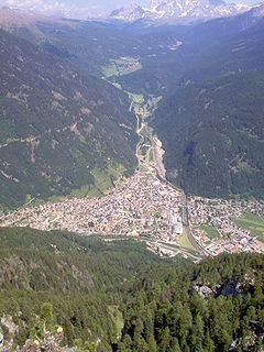 Predazzo Comune in Trentino-Alto Adige/Südtirol, Italy