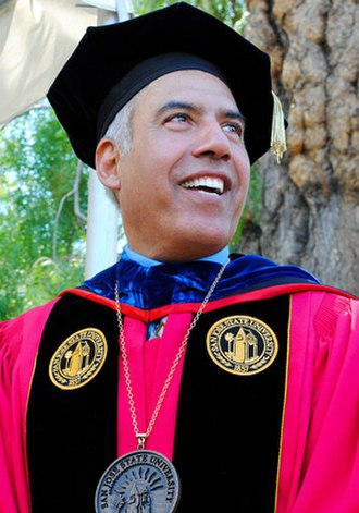 Mohammad Qayoumi - President Mohammad Qayoumi on his inauguration as President of San Jose State University in 2011.