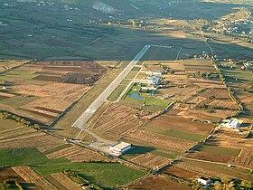 Veduta dell'Aeroporto dei Parchi