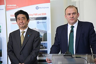 Ed Davey - Image: Prime Minister of Japan (13895756480)