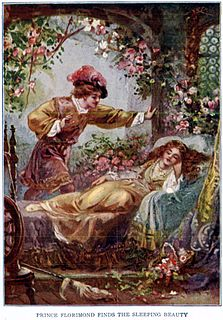 <i>Sleeping Beauty</i> European fairy tale