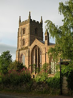 Leominster Abbey Medieval monastery and convent in Leominster, England