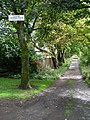 Private road to Lenzie Tennis Club - geograph.org.uk - 1476185.jpg