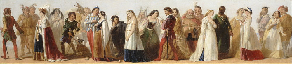 Procession of Characters from Shakespeare's Plays by an unknown 19th-century artist Procession of Characters from Shakespeare's Plays - Google Art Project.jpg
