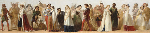 Procession of Characters from Shakespeare's Plays by an unknown 19th-century artist (Source: Wikimedia)