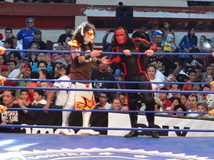 Chessman (wrestler) - Chessman and fellow Legión Extranjera member Psicosis